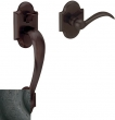 Baldwin<br />85353.402 - Boulder Sectional Handleset Distressed Oil Rubbed Bronze