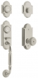 Baldwin<br />85365.055 - ASHTON TWO-POINT HANDLESET - LIFETIME POLISHED NICKEL