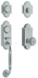 Baldwin<br />85365.260 - ASHTON TWO-POINT HANDLESET - POLISHED CHROME