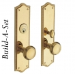 Baldwin<br />BALDWIN - BRISTOL BUILD-A-SET ESCUTCHEON SETS - STANDARD FINISHES