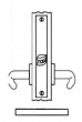 Baldwin<br />G6318 - PASSAGE OR CLOSET MORTISE LOCK - ANSI F01 - 2 1/2&quot; BACKSET