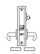Baldwin<br />G6365 - STOREROOM OR CLOSET MORTISE LOCK - ANSI F07 - 2 1/2&quot; BACKSET
