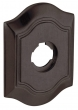 Baldwin<br />R027.412 - 3&quot; BETHPAGE ROSE - DISTRESSED VENETIAN BRONZE