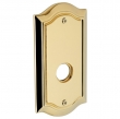 Baldwin<br />R028.003 - 5&quot; BETHPAGE ROSE - LIFETIME POLISHED BRASS