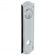 Baldwin<br />R029.260 - 10&quot; BETHPAGE ROSE - ENTRY OR PASSAGE/PRIVACY - POLISHED CHROME