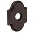 Baldwin<br />R030.412 - 3&quot; ARCHED ROSE - DISTRESSED VENETIAN BRONZE