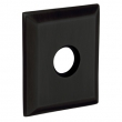 Baldwin<br />R033.190 - 3&quot; SQUARED ROSE - SATIN BLACK