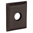 Baldwin<br />R033.412 - 3&quot; SQUARED ROSE - DISTRESSED VENETIAN BRONZE - LACQUER COATED