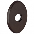 Baldwin<br />R039.412 - 3&quot; OVAL ROSE - DISTRESSED VNETIAN BRONZE