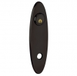 Baldwin<br />R041.102 - 10&quot; OVAL ROSE - ENTRY OR PASSAGE/PRIVACY - OIL RUBBED BRONZE