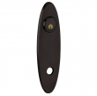 Baldwin<br />R041.402 - 10&quot; OVAL ROSE - ENTRY OR PASSAGE/PRIVACY - DISTRESSED OIL RUBBED BRONZE