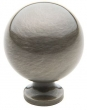 Baldwin<br />Spherical Knob Antique Nickel  - 4961.151.BIN IN STOCK