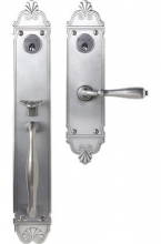 Bouvet - 2501 MORTISE HANDLE SET - DOUBLE CYLINDER IN IRON (SPECIAL ORDER)