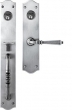 Bouvet<br />2508 - 2508 MORTISE HANDLE SET - DOUBLE CYLINDER IN IRON (SPECIAL ORDER)