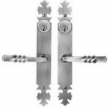 Bouvet<br />4020 - 4020 EUROPEAN STYLE - ENTRANCE LEVER SET - DOUBLE CYLINDER IN IRON (SPECIAL ORDER)