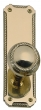 Brass Accents<br />D06-K538 - Quartermain 2 1/4&quot; x 7&quot; Plates: Passage, Privacy or Dummy
