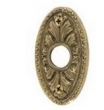 Brass Accents<br />D04-K028 - Avalon 1 11/16&quot; x 2 13/16&quot; Rosette: Passage, Privacy or Dummy