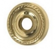 Brass Accents<br />D06-K010 - Charleston 2 5/8&quot; Rosette: Passage, Privacy or Dummy