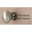 Carpe Diem Cabinet Knobs<br />105 CD - 105 OLD WORLD LARGE OVAL KNOB