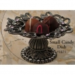 Carpe Diem Cabinet Knobs<br />1871 CD - 1871 CACHE II SMALL CANDY DISH WITH SWAROVSKI CRYSTALS
