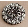 Carpe Diem Cabinet Knobs<br />882 CD - 882 CACHE MEDIUM ESCUTCHEON WITH SWAROVSKI CRYSTALS