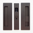 Cavilock<br />CL400B0226 - Cavity Sliders Magnetic Privacy Pocket Door Set, Blank/Snib RH (Right Hand), Oil Rubbed Bronze, for 1 3/8&quot; Door Thickness