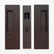 Cavilock<br />CL400C0226 - Cavity Sliders Magnetic Key Locking Pocket Door Set, Key LH (Left Hand)/Blank, Oil Rubbed Bronze, for 1 3/8&quot; Door Thickness