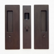 Cavilock<br />CL400C0229 - Cavity Sliders Magnetic Key Locking Pocket Door Set, Key/Key, Oil Rubbed Bronze, for 1 3/8&quot; Door Thickness