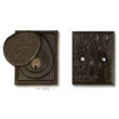 Coastal Bronze<br />30-200 - Deadbolt Square 2&quot; x 2-1/2&quot;