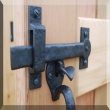 Coastal Bronze<br />40-330 - 8&quot; Double Thumb Latch for 1-1/2&quot; - 1-7/8&quot; Gate