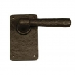 Coastal Bronze<br />800-20-PAS - Round Passage Offset Lever on Plate