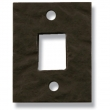 Coastal Bronze<br />90-111 - Mortise Plate for Slide Bolt - 6&quot;