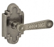 Fusion Hardware <br />AM-C2 - Concha Lever with Navajo Stepped Scalloped Rose