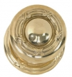Brass Accents<br />D05-K725 - Ribbon and Reed 2 9/16&quot; Rosette: Passage, Privacy or Dummy