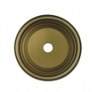 Deltana<br />BPRC150 - Deltana Solid Brass Base Plate for Knobs - 1 1/2&quot; Diameter