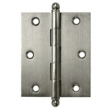 Deltana<br />CH3025 SOLID BRASS CABINET HINGES - 3&quot; x 2.5&quot; DELTANA CABINET HINGE PAIR