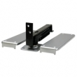 Deltana<br />DASH95 - DOUBLE ACTION FLOOR MOUNTED DELTANA SPRING HINGE