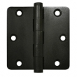 Deltana<br />DSB35R4-R SOLID BRASS DOOR HINGES - 3.5&quot; x 3.5&quot; DISTRESSED RESIDENTIAL 1/4&quot; RADIUS DELTANA DOOR HINGE PAIR
