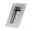 Deltana<br />FP155U32D - Deltana Flush Pull, Stainless Steel, Rectangle - 4&quot; x 1&quot; x 1/2&quot;