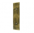 Deltana<br />PPH3515 - Deltana Solid Brass Push Plate - 15&quot;