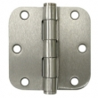 Deltana<br />S35R5HD STEEL DOOR HINGES - 3.5&quot; x 3.5&quot; STEEL HEAVY DUTY 5/8&quot; RADIUS DELTANA DOOR HINGE PAIR