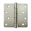 Deltana<br />S44R4 STEEL DOOR HINGES - 4&quot; x 4&quot; STEEL RESIDENTIAL 1/4&quot; RADIUS DELTANA DOOR HINGE PAIR