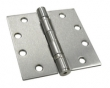 Deltana<br />S45BB PAIR STEEL DOOR HINGES - 4.5&quot; x 4.5&quot; STEEL HEAVY DUTY 2-BALL BEARING DELTANA DOOR HINGE PAIR