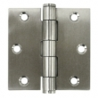 Deltana<br />SS33U32 DELTANA STAINLESS STEEL DOOR HINGES - 3&quot; x 3&quot; STAINLESS STEEL STANDARD SQUARE DELTANA DOOR HINGE PAIR - US32 FINISH