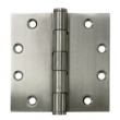 Deltana<br />SS45BU32D STAINLESS STEEL DOOR HINGES - 4.5&quot; x 4.5&quot; STAINLESS STEEL 2-BALL BEARING SQUARE DELTANA DOOR HINGE PAIR - US32D FINISH