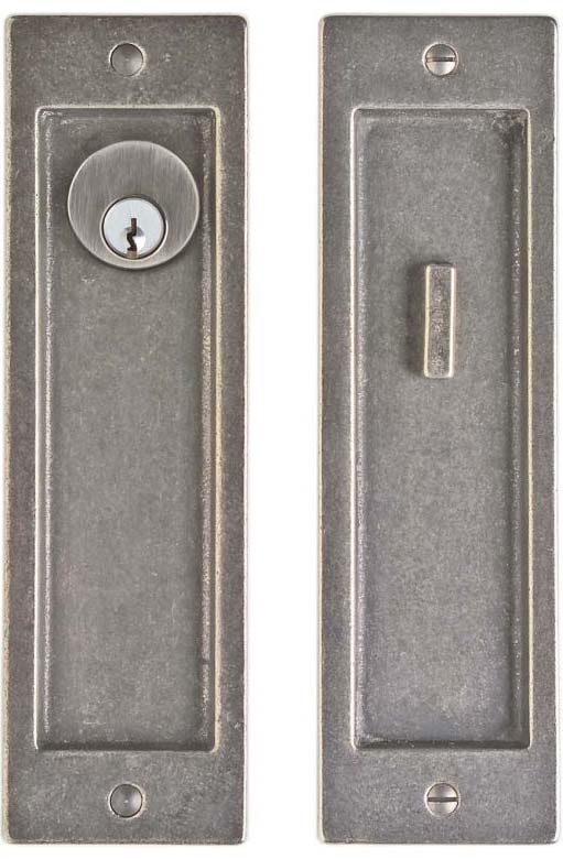 Flush Door Locks and Folds