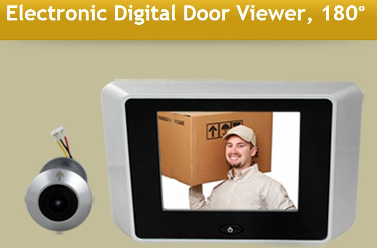 Electronic Door Viewer  ELECDDV180