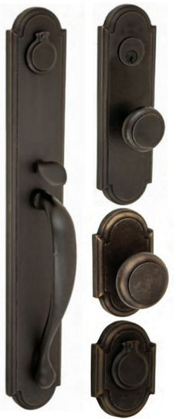 American Relic - El Tovar Collection- Mortise and matching knob/lever/deadbolt sets