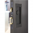 Emtek<br />2113 - Modern Rectangular Keyed Pocket Door Mortise Lock