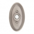 Emtek<br />2402 - 2402 DOORBELL BUTTON WITH OVAL ROSETTE